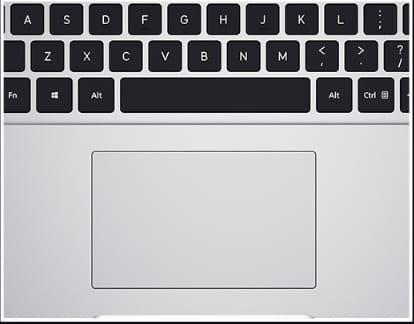 Mi Notebook 14 e Learning Edition Keyboard and Trackpad Performance: